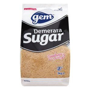 Gem Brown Sugar 3kg AGEM5404