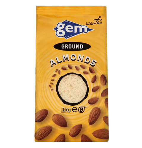 Gem Ground Almonds 1kg AGEM5709