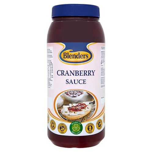 Blenders Cranberry Sauce 2x2.5kg CBLE49076