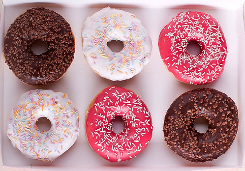 Irish Country Cuisene Iced Donuts Mixed x 36 FICC4732