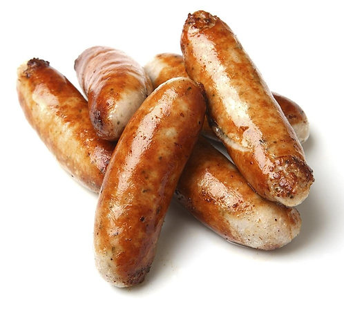 Loughnane Cooked 8's Sausages 5kg  FLOU4627
