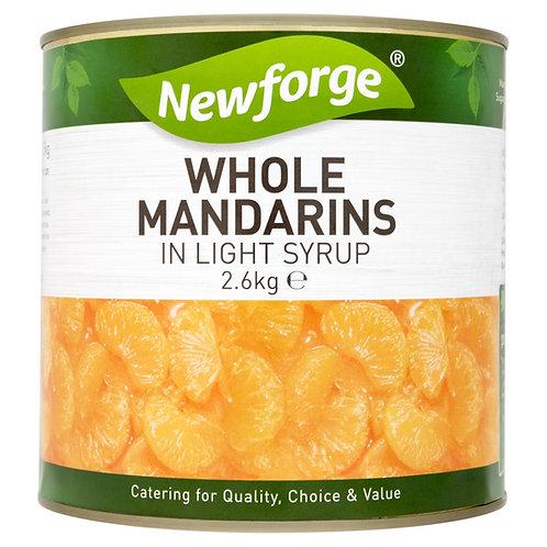 Newforge Mandarin Oranges 6x2.6kg AEXE4914