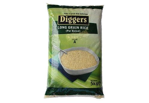 Long Grain Rice Par Boiled 5kg APAN49107