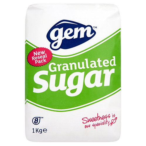 Gem Granulated Sugar 3kg AGEM5403