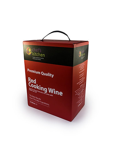 Chefs Kitchen Red Cooking Wine 5ltr    ACHE49091