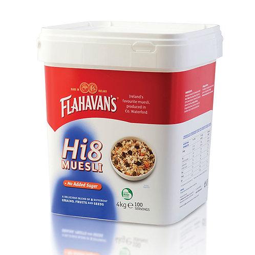 Flahavans Hi8 Muesli 4kg AFLA6504