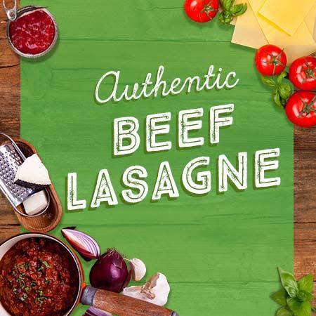 Rustic Kitchen Beef Lasagne 2.7kg CDUN1662