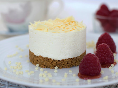 Coolhull Farm Ind White Choc Cheesecake x 12 FPAG48136
