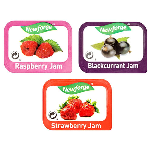 Newforge Assorted Jams 96x20g AEXE49170