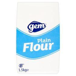 Gem Plain Flour 8 x 1.5kg AGEM4723