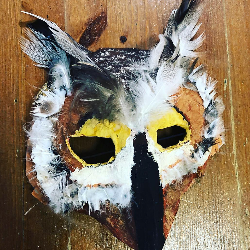 Kids Mask Making 2 day workshop
