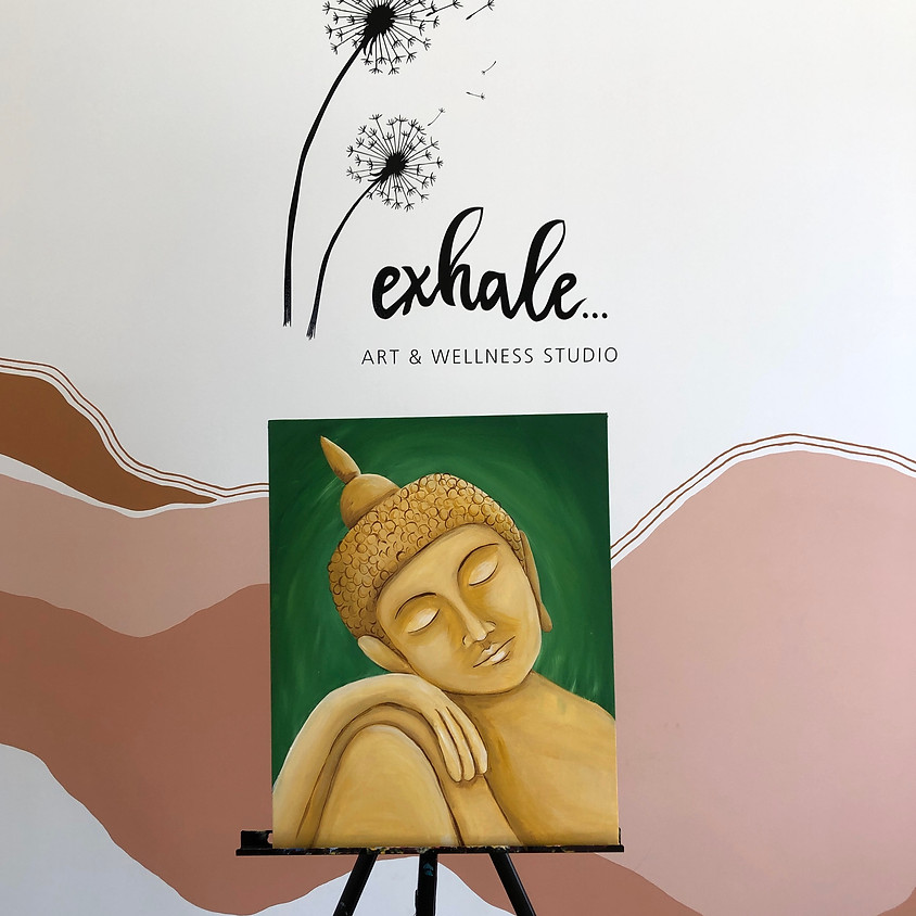 PAINT AND SIP - Buddha