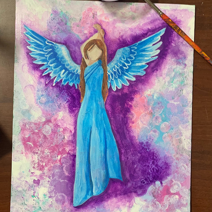 Paint a Canvas - Angel