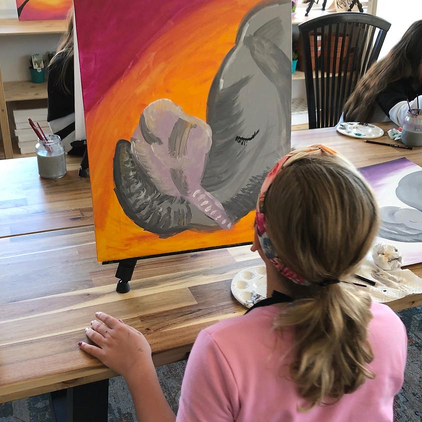 Kids Canvas Painting Workshop