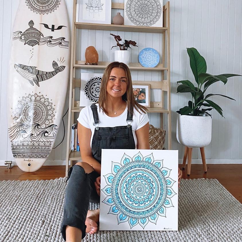 Mandala on Canvas Workshop