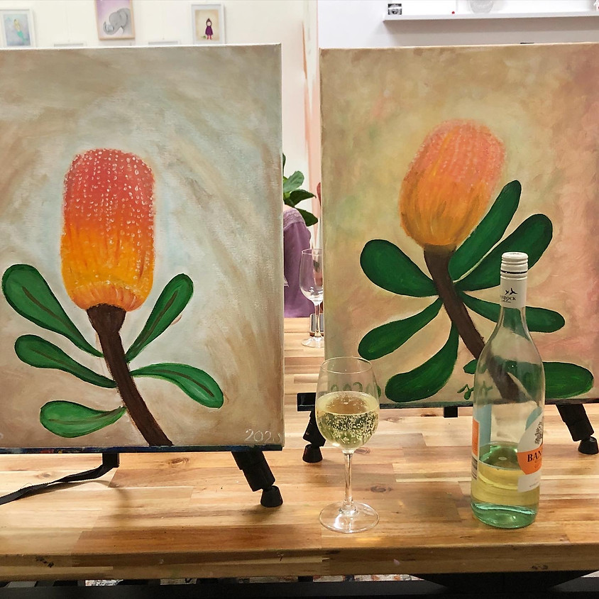 Paint and Sip Banksia