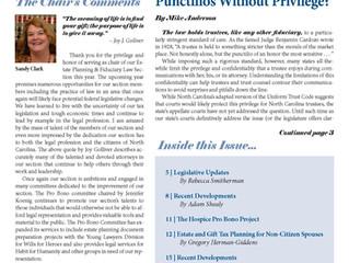 Punctilios Without Privilege?