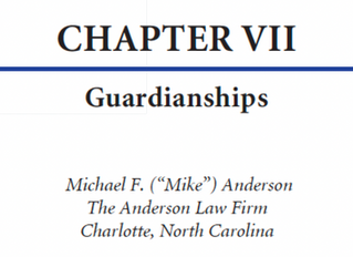 Guardianships & Incompetency Proceedings in NC