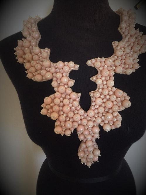Pink Pearl Large Bib