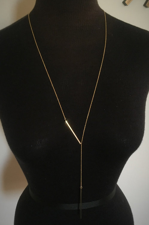 Gold Drop Necklace