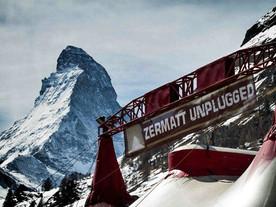 Tu t'es déjà unpluggé à Zermatt?