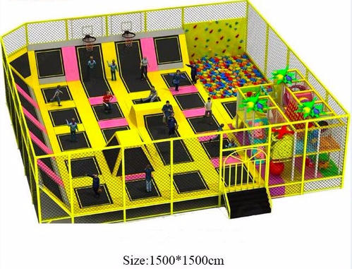 TRAMPOLINE SOFTPLAY