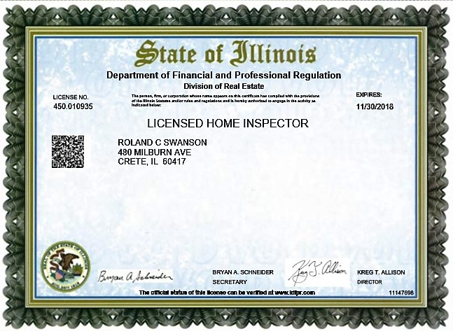 Illinois State Licensed