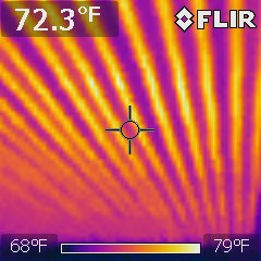 Heated ceiling