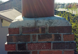 Chimney cap issue