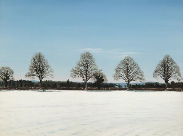 Winter. The Road to Ashamptead. £1,195 Michael Norcross