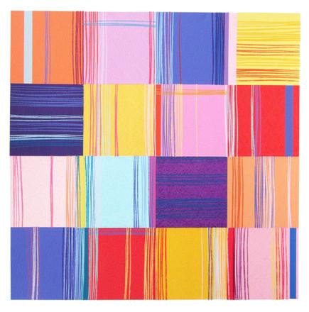 Large Indian Squares N0.1. £650 Christine Calow