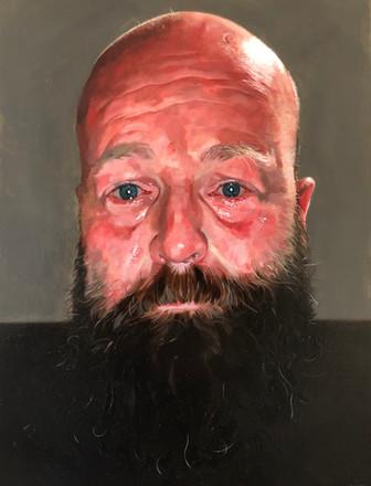 Self Portrait. £5,000 Geoffrey Harrison