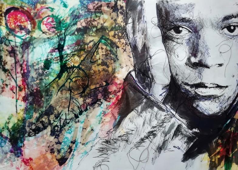 Andrea Cryer. Basquiat
