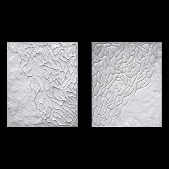 Aleksandra Romashko. Sculpted Creatures. White Wave 2
