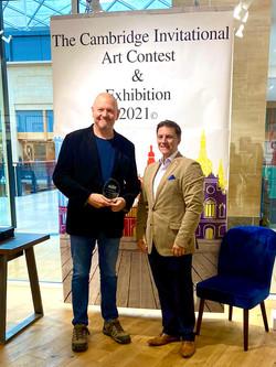 Martin  Southwood The Graduate Hotel Art Award.