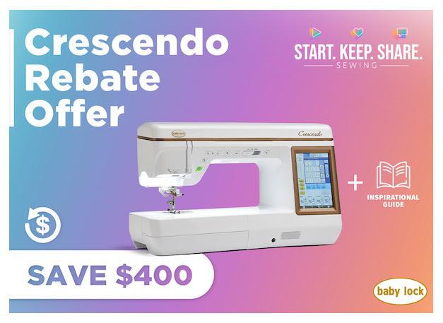 Crescendo Rebate Offer