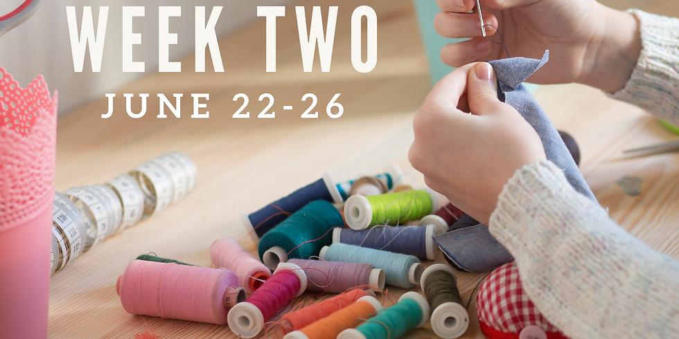 Week Two (June 22 - 26)