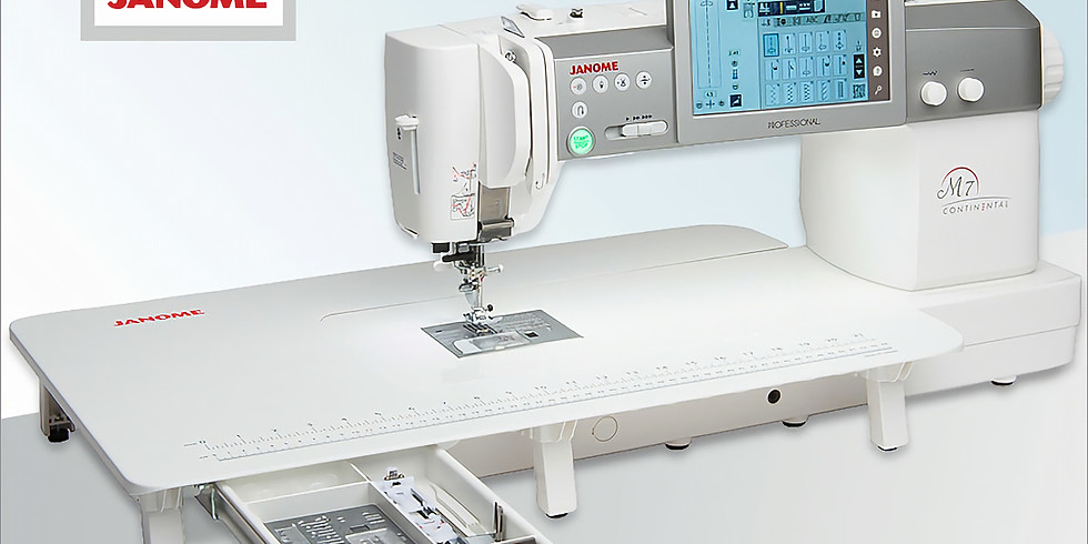 Janome Continental M7 Mastery Class