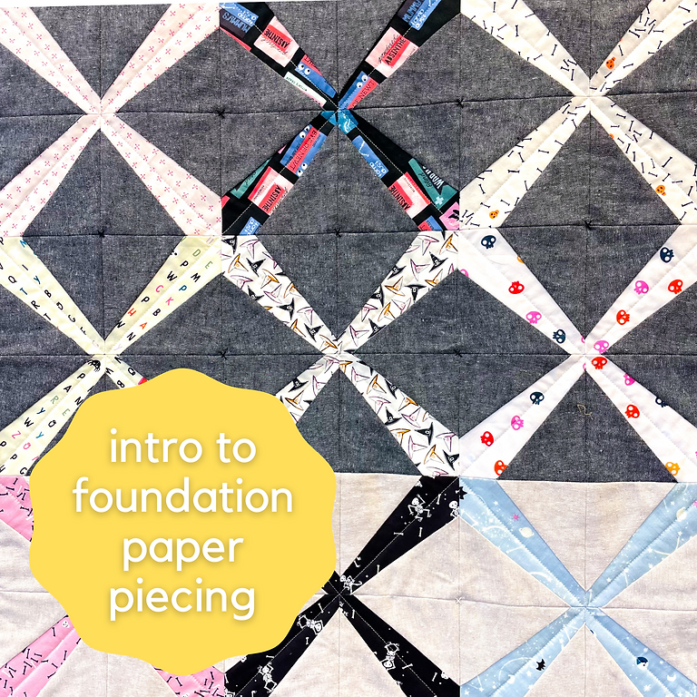 Intro to Foundation Paper Piecing