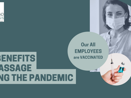 The Benefits of Massage During the Pandemic