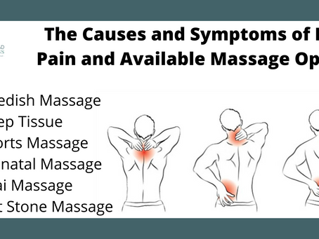 The Causes and Symptoms of Back Pain and Available Massage Options