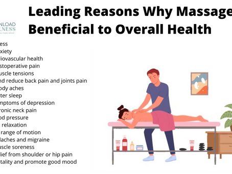 Leading Reasons Why Massage is Beneficial to Overall Health
