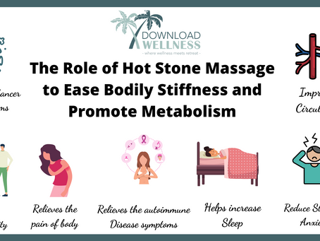 The Role of Hot Stone Massage to Ease Bodily Stiffness and Promote Metabolism