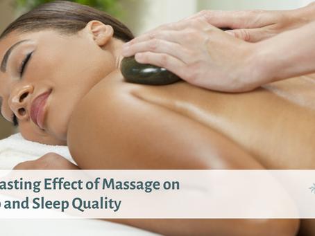 The Lasting Effect of Massage on Sleep and Sleep Quality