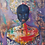 Thumbnail: African Girl African Art, African Portrait Painting