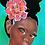 Thumbnail: African Art, African Girl, Afro Art, natural hair Art