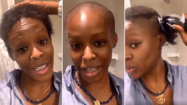 Azealia Banks Shaves Her Head
