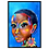"""Thumbnail: """"Im Thinking of You"""":African Girl African Art, African Portrait Painting"""