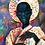 Thumbnail: African Girl African Art, African Portrait Pain