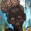 "Thumbnail: ""La Negra"":African Girl African Art, African Portrait Painting"